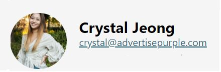 Crystal - Advertise Purple